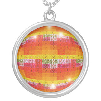 Geometric Necklace Disco Ball