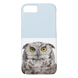 Geometric Owl Phone Case