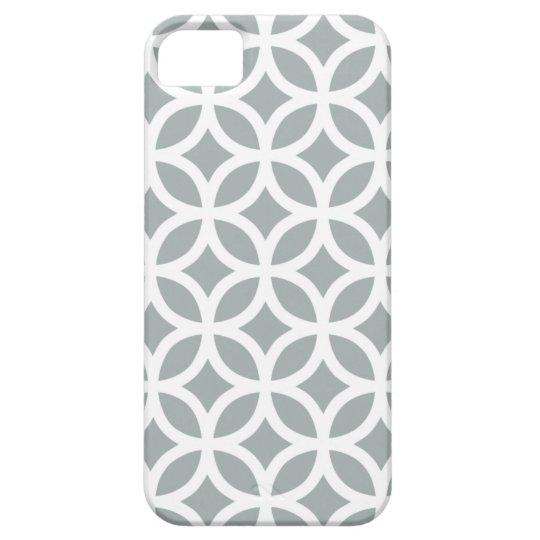 Geometric Paloma Grey iPhone 5/5S Case