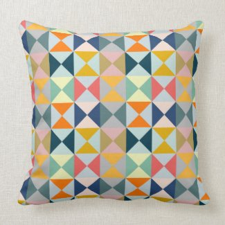 Geometric Patchwork Triangles