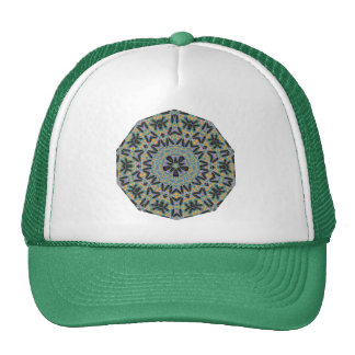 Geometric Pattern 03 - Add your own text Mesh Hat