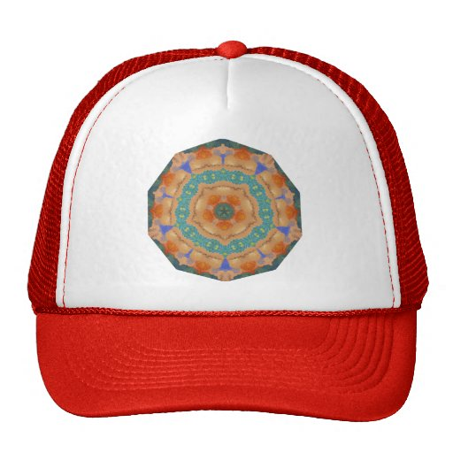 Geometric Pattern 06 - Add your own text Trucker Hat