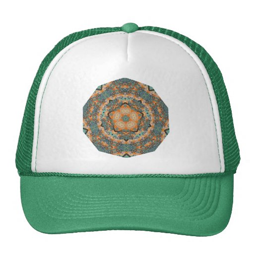 Geometric Pattern 08 - Add your own text Trucker Hat