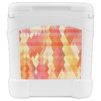 Geometric pattern 1 rolling cooler