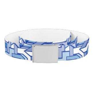 Geometric pattern 2 belt