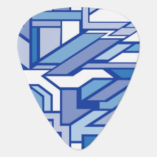 Geometric pattern 2 guitar pick