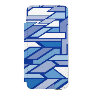 Geometric pattern 2 incipio watson™ iPhone 5 wallet case