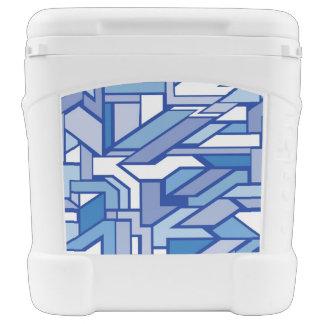 Geometric pattern 2 rolling cooler