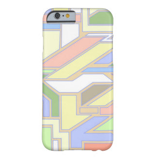 Geometric pattern 3 barely there iPhone 6 case