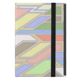 Geometric pattern 3 case for iPad mini