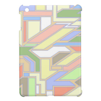 Geometric pattern 3 cover for the iPad mini