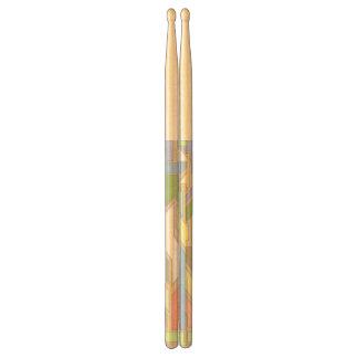 Geometric pattern 3 drumsticks