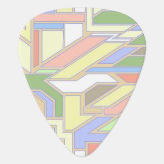 Geometric pattern 3 guitar pick