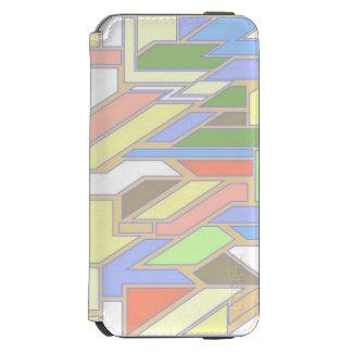 Geometric pattern 3 incipio watson™ iPhone 6 wallet case