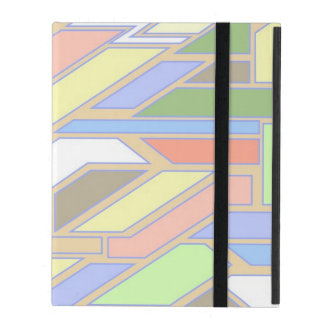 Geometric pattern 3 iPad cover