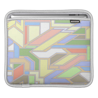 Geometric pattern 3 iPad sleeve