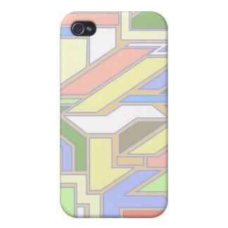 Geometric pattern 3 iPhone 4 case