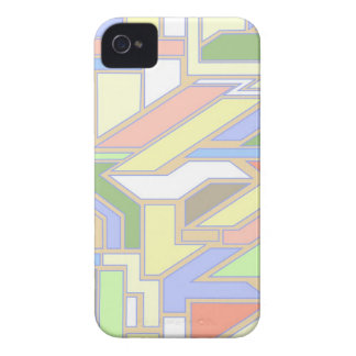 Geometric pattern 3 iPhone 4 Case-Mate case