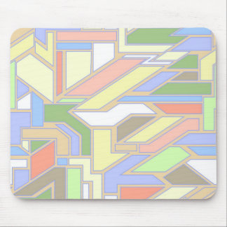 Geometric pattern 3 mouse mat