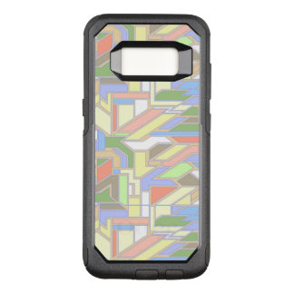 Geometric pattern 3 OtterBox commuter samsung galaxy s8 case