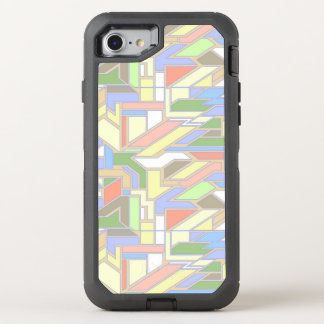 Geometric pattern 3 OtterBox defender iPhone 7 case