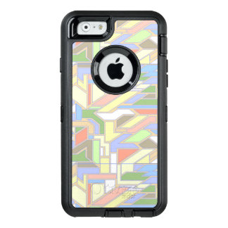 Geometric pattern 3 OtterBox defender iPhone case