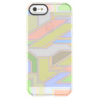 Geometric pattern 3 permafrost® iPhone SE/5/5s case