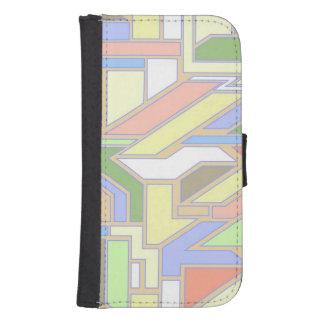 Geometric pattern 3 samsung s4 wallet case