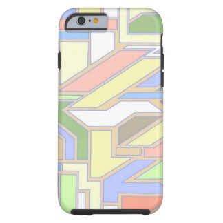 Geometric pattern 3 tough iPhone 6 case