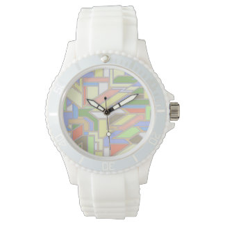 Geometric pattern 3 watch