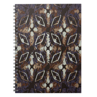 Geometric pattern.Abstract background Spiral Note Books