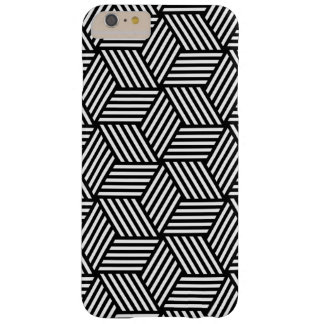 Geometric pattern art design barely there iPhone 6 plus case