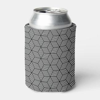 Geometric pattern art design can cooler