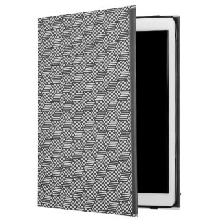 "Geometric pattern art design iPad pro 12.9"" case"
