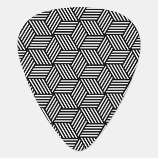Geometric pattern art design plectrum