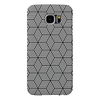 Geometric pattern art design samsung galaxy s6 cases