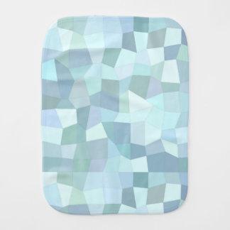 Geometric Pattern Burp Cloth
