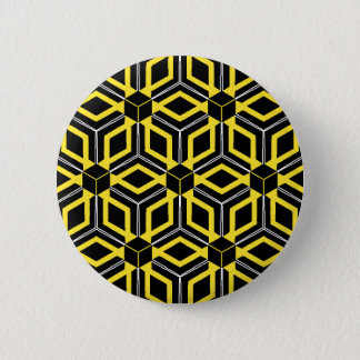 Geometric pattern button