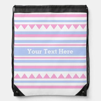 Geometric Pattern custom bag