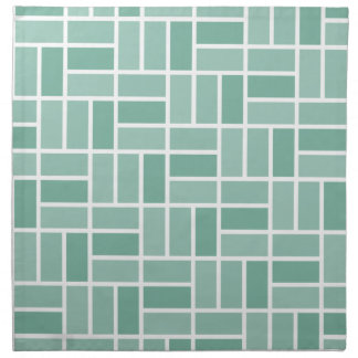 Geometric Pattern custom cloth napkins
