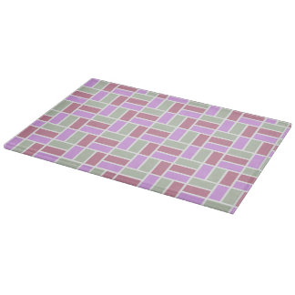 Geometric Pattern custom cutting board