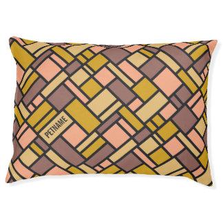 Geometric Pattern custom dog beds
