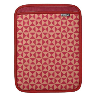 Geometric Pattern custom iPad sleeve