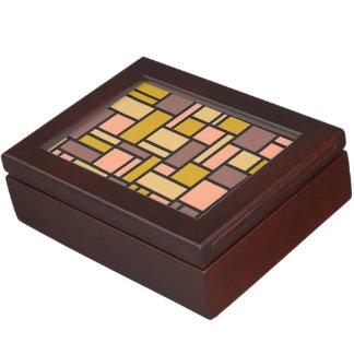 Geometric Pattern custom keepsake box