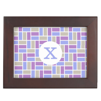 Geometric Pattern custom keepsake box