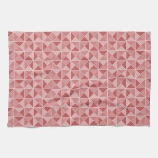 Geometric Pattern custom kitchen towel