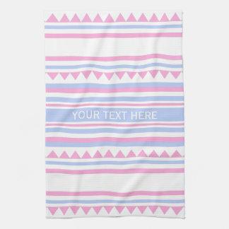 Geometric Pattern custom kitchen towels