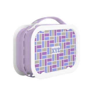 Geometric Pattern custom lunch box