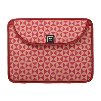 Geometric Pattern custom MacBook sleeve