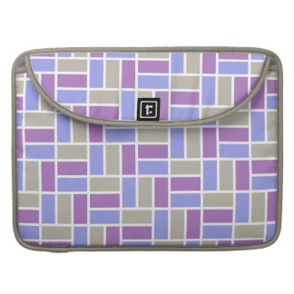 Geometric Pattern custom MacBook sleeves
